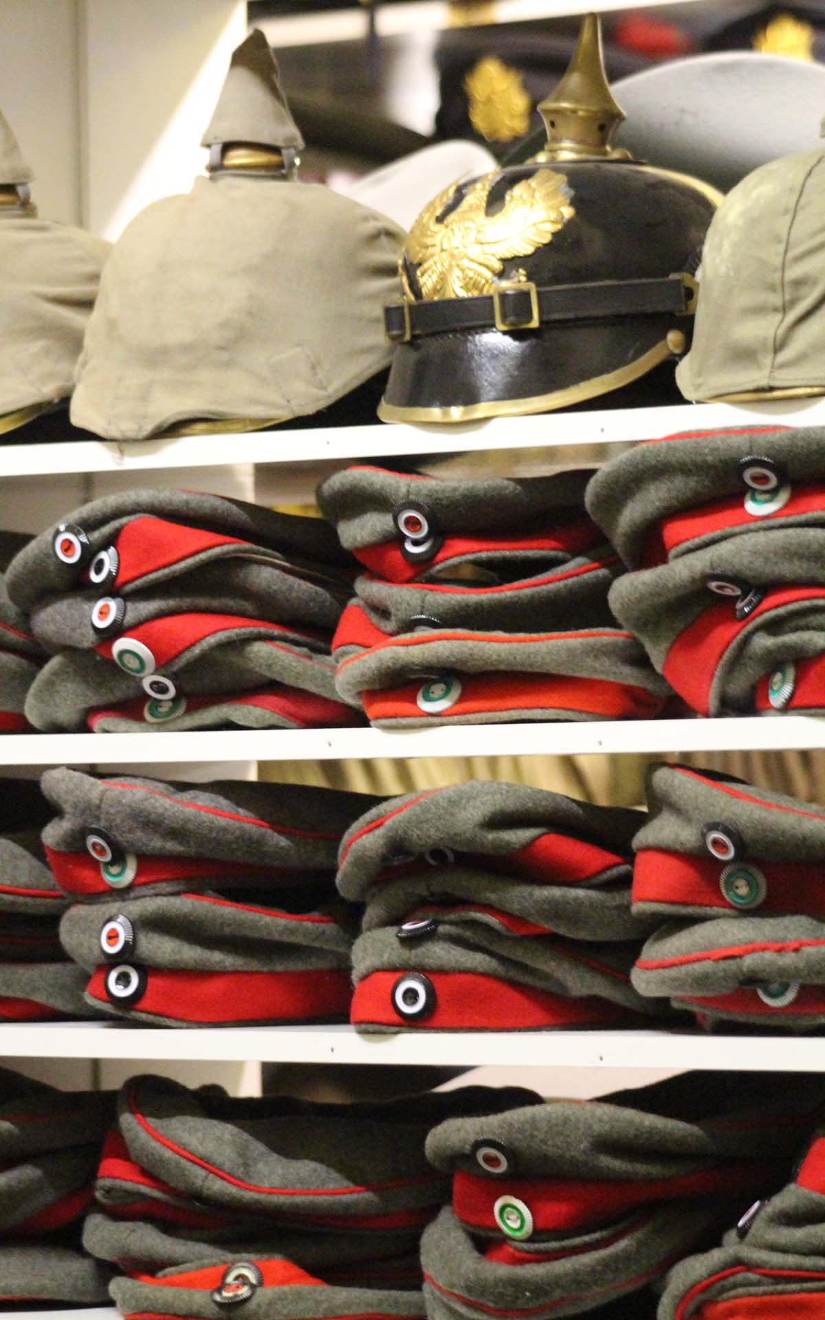 Khaki Devil Hat Hire